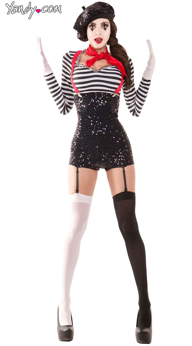 This out fit with out the hat and mime makeup | Halloween ...