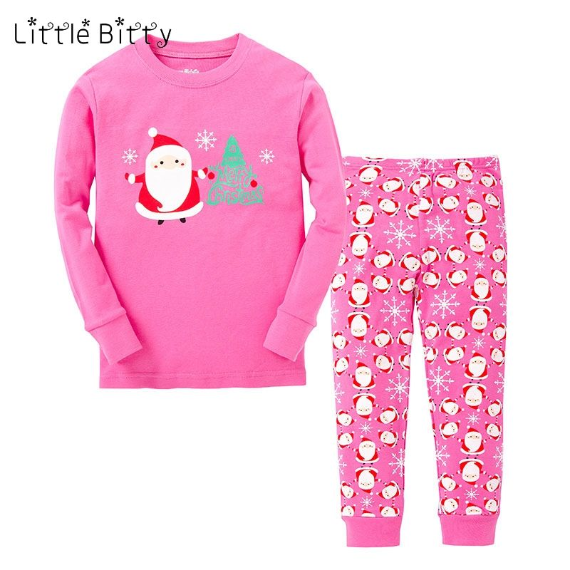 1916c5eec6aa Little Bitty baby pajamas kids merry christmas pyjamas boys girls ...