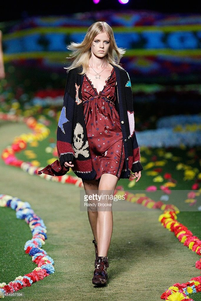 05a0ef8ff89e A model walks the runway at Tommy Hilfiger Women's fashion show during  Mercedes-Benz Fashion Week Spring 2015 at Park Avenue Armory on September  8, ...