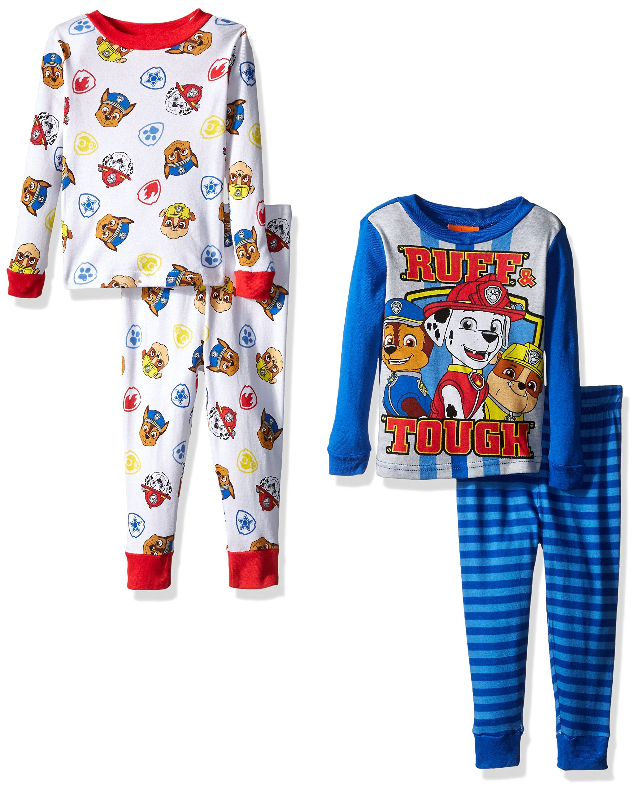 Nickelodeon Little Boys Toddler Paw Patrol Toddler 4Piece Pajama Set Blue  2T    Find out more evaluations of the item by seeing the web link on the  picture. 33a66283a