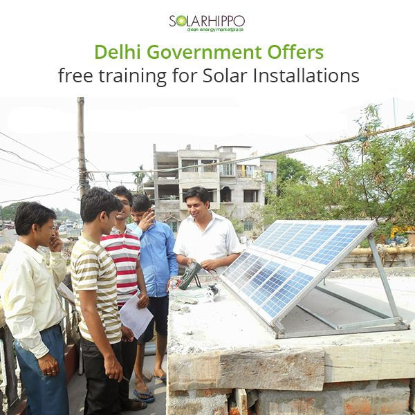 Delhi government is conducting a three-month free training infield