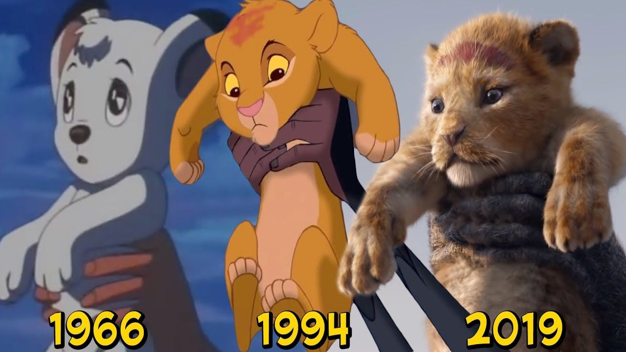 Kimba 1966 Vs Simba 1994 Vs Simba 2019 The Lion King Official Teaser Trailer Youtube Kimba The White Lion Lion King Simba Lion