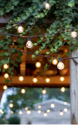 Sarahvandenbosch garten in the garden beleuchtung garten und lichterkette - Gartenparty beleuchtung ...