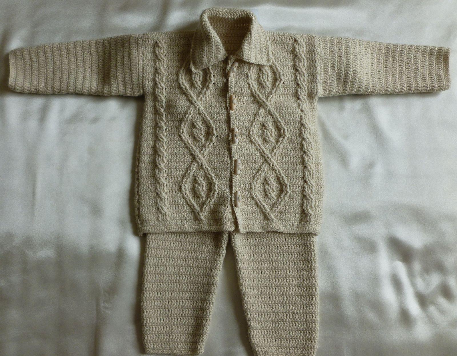 88047f5c4 Baby Aran Set pattern by Crochet- atelier