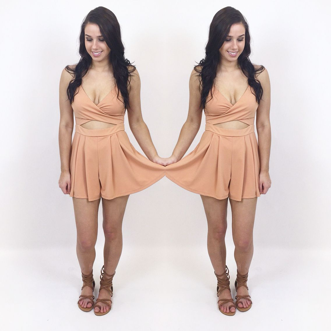 85d64bf6e64 Everyone needs a cute summer outfit to romp around in!!  RompAround   SoSandaled  Romper