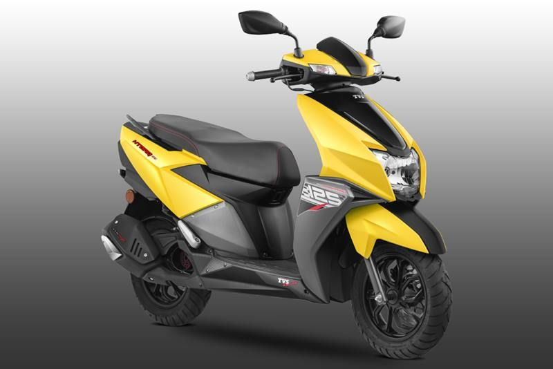 Tvs Ntorq 125 In Images Here S India S First Scooter Enabled With