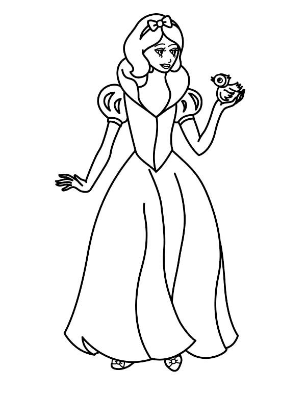 Snow White Printable Coloring Pages http://freecoloring-pages.org ...