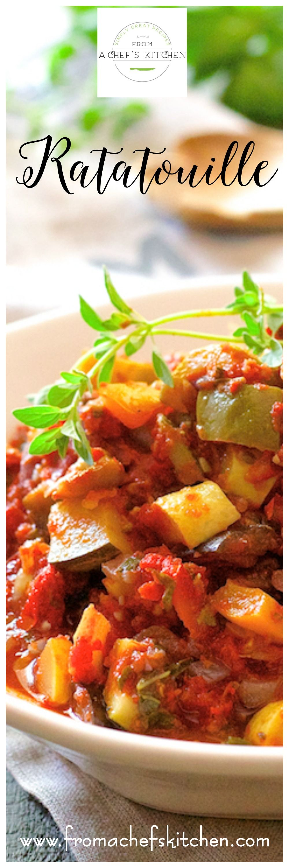 Provencal-inspired ratatouille is THE dish to make from a summer abundance every summer!