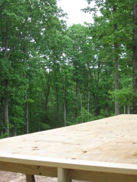 How To Build An Elevated Deck On Uneven Ground Building A