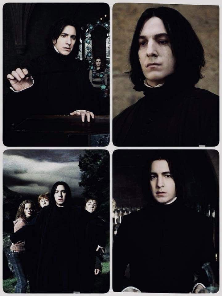 Younger Snape He Really Was Only In His 30s So Yeah He D Look More Like This Harry Potter Severus Snape Harry Potter Severus Snape Harry