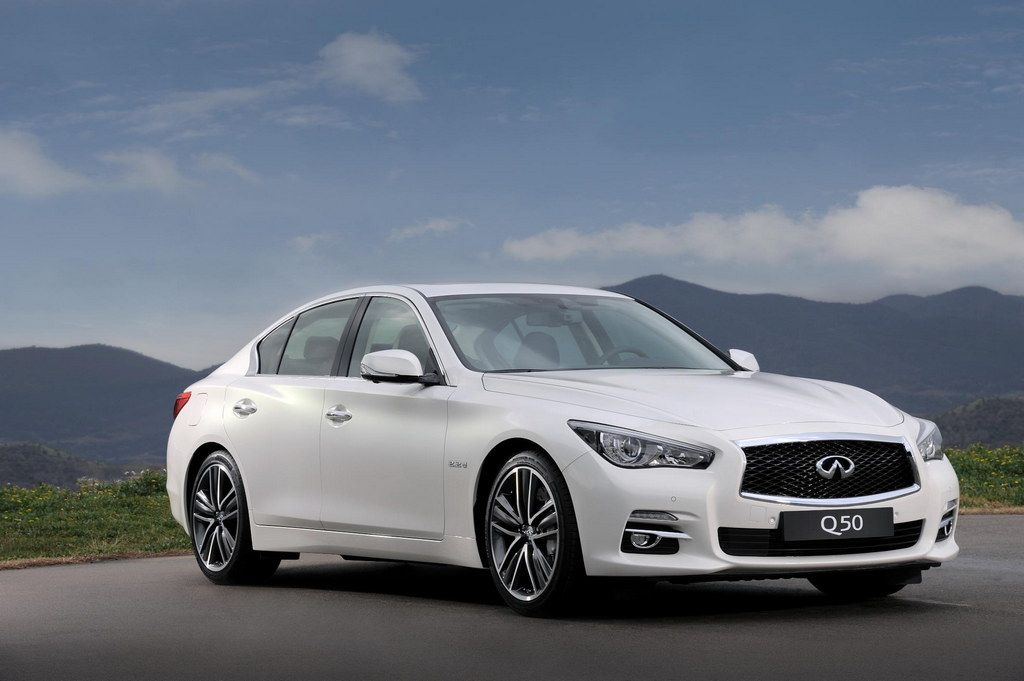 2017 Infiniti Q50 White Top Car Magazine