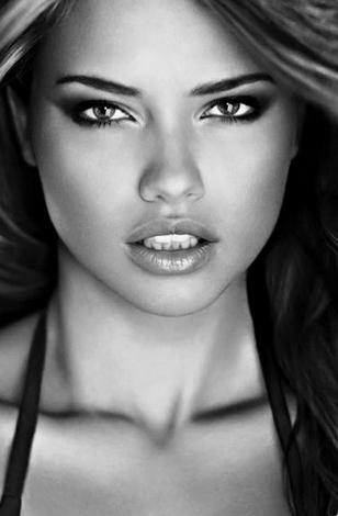 Visage Femme Noir Et Blanc : visage, femme, blanc, #Womens