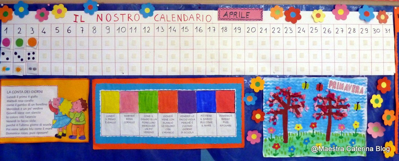 Costruire Calendario Scuola Infanzia.Maestra Caterina L Angolo Delle Routines Bortolato