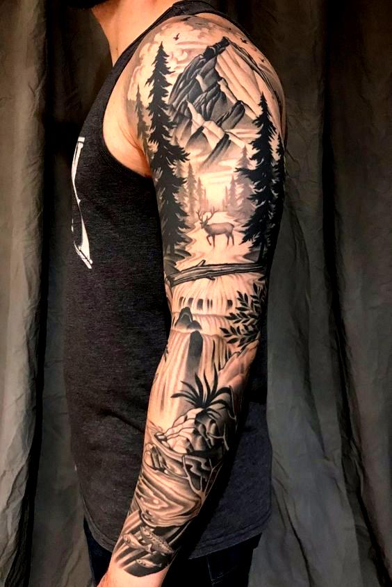 Arm männer schulter tattoos 53 Designs