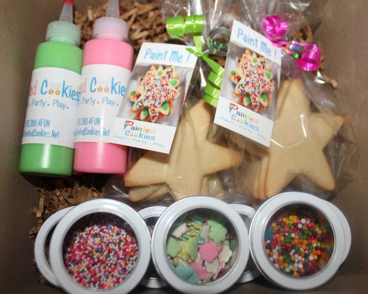 MAIL a COOKIE PARTY to a FARAWAY FRIEND!    A great idea for Christmas or Valentine's Day.  Or regular days.  Sure to bring cheer to the recipient!  :)