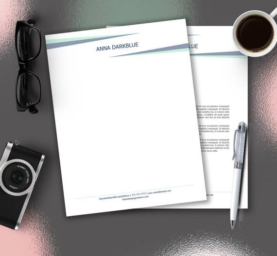 Personal letterhead letter stationery stationery download personal letterhead letter stationery stationery download stationery template personalized design editable in word diy stationery spiritdancerdesigns Images