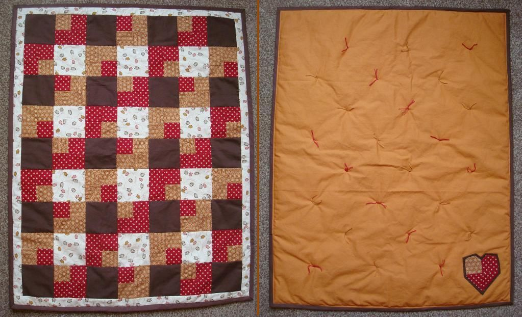 Baby Quilt for a Friend via Craftsy