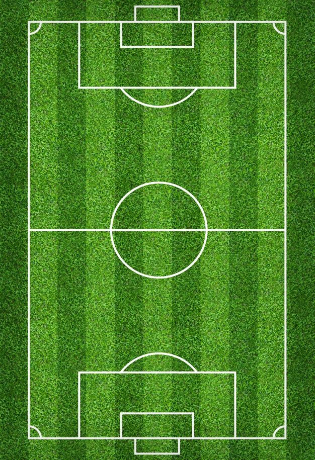 Football Field Or Soccer Field For Background In 2020 Soccer Field Soccer Football Field