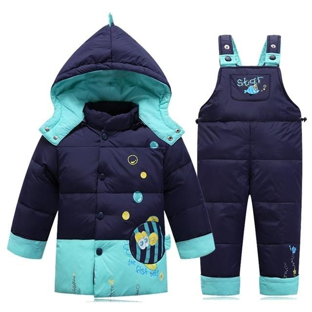 c4b2d6cd36a5 Baby Boy s clothing sets baby Girl Ski suit sets Children s Outdoor ...
