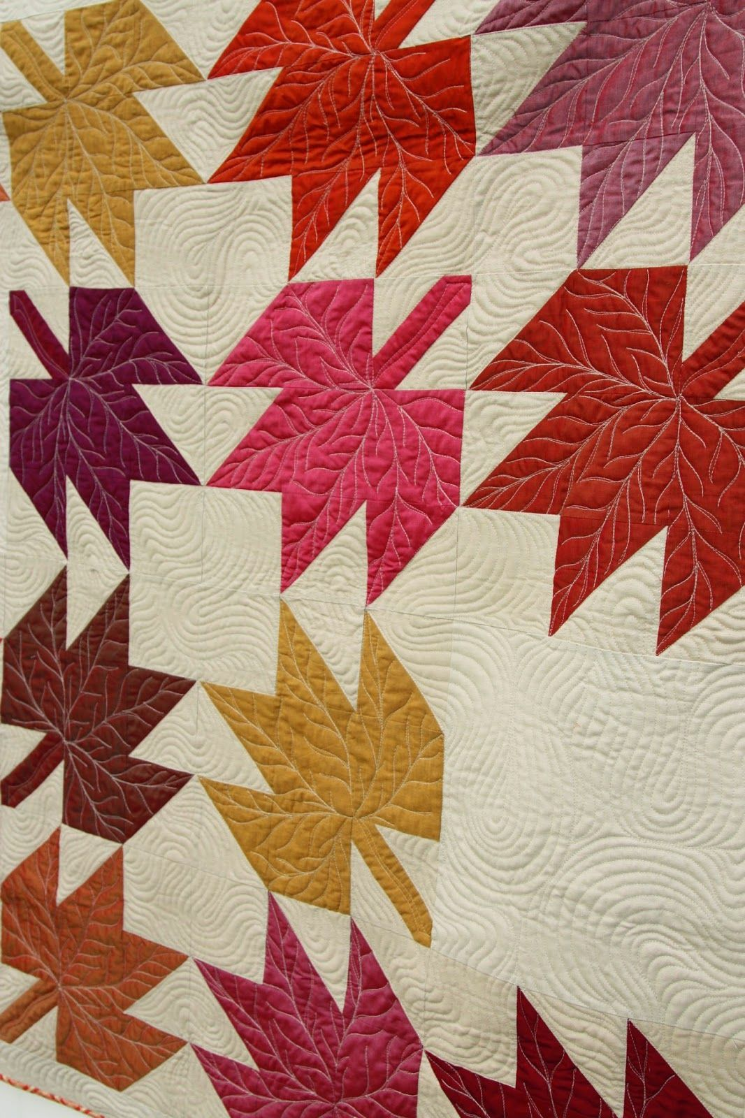 Modern Maples Quilt Diaries Leaves And Amy Smart