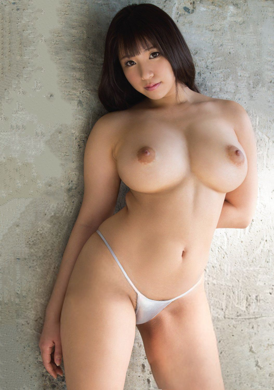 Gorgeous japanese babe risa fucked doggy 1