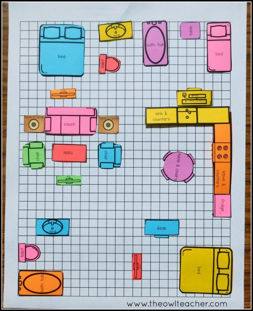 Teaching Area Using Applied Math | Math activities, Math and Activities