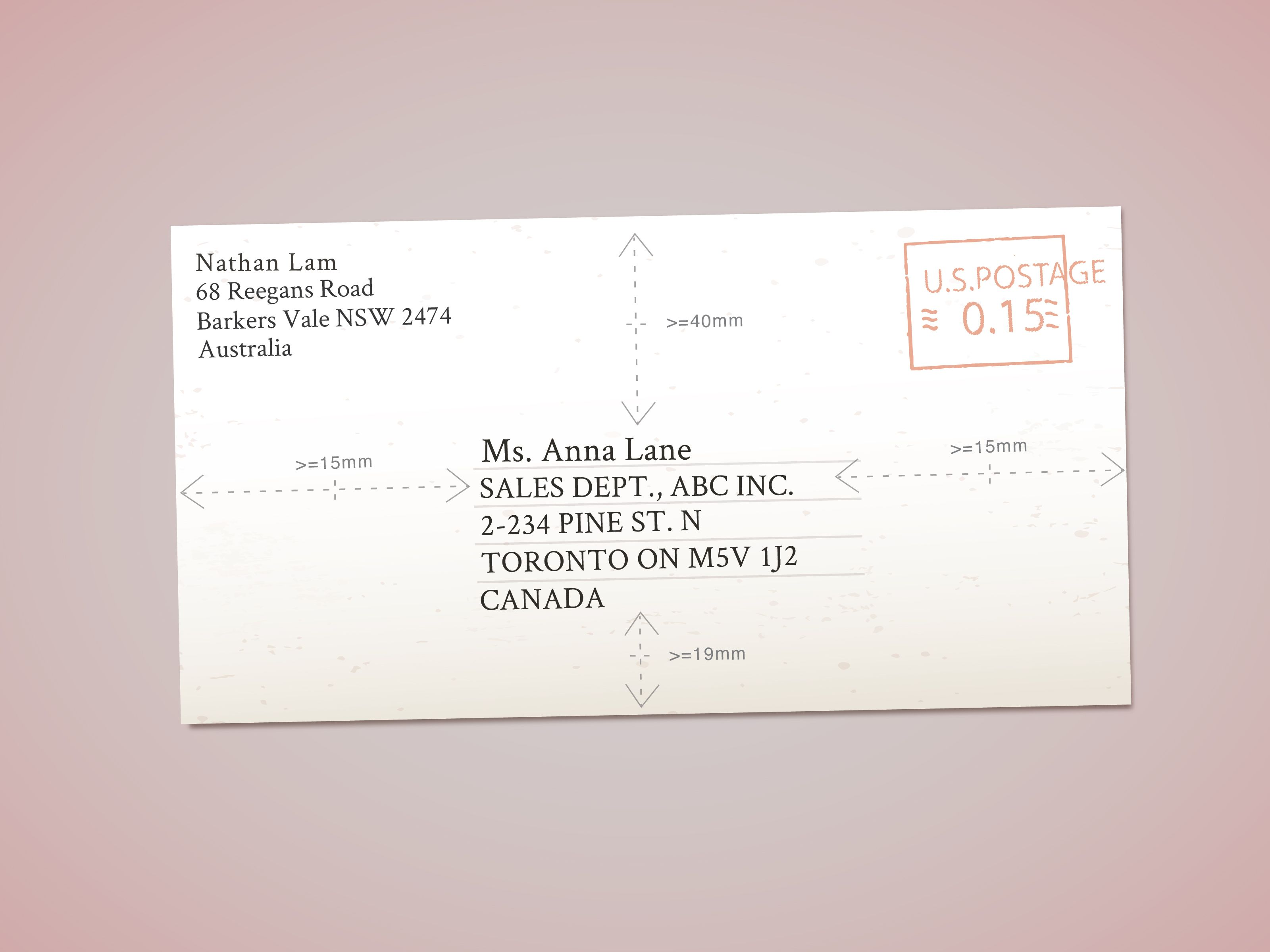 Address Envelopes to Canada (With images) Addressing