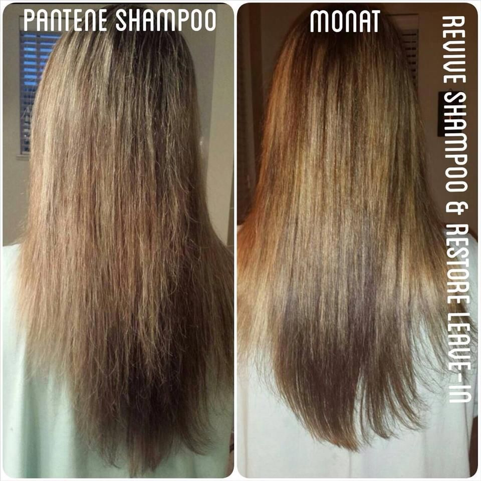 Before and after with Monat! What a difference! www