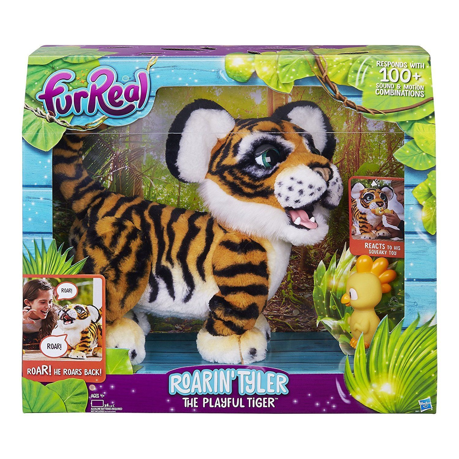 Tyler Roaring Tiger by Furreal Pets (With images) Fur
