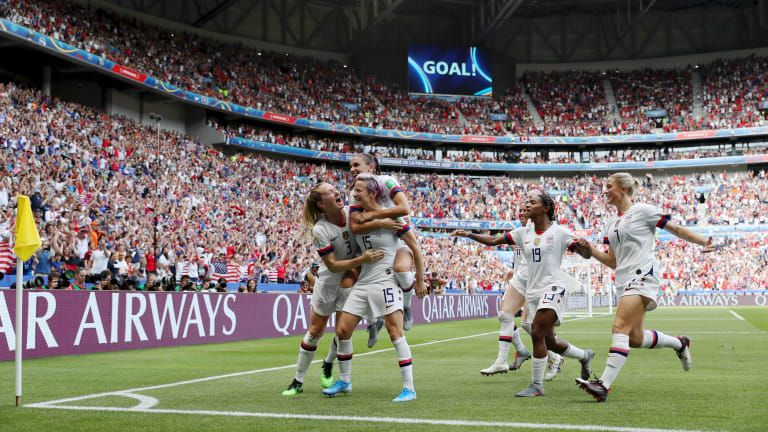 FIFA Women's World Cup 2019™ News The USWNT conquer