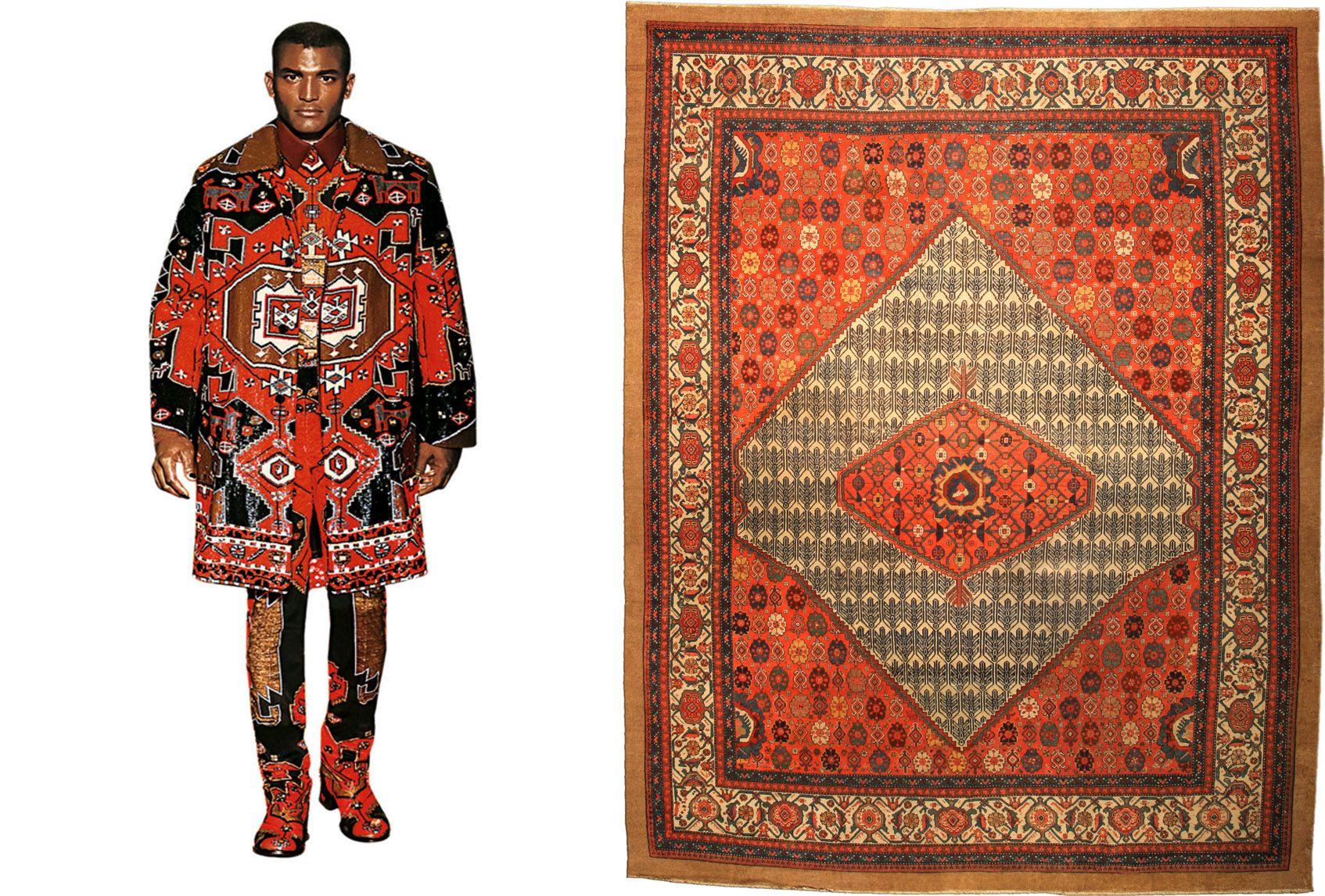 Where fashion meets carpet