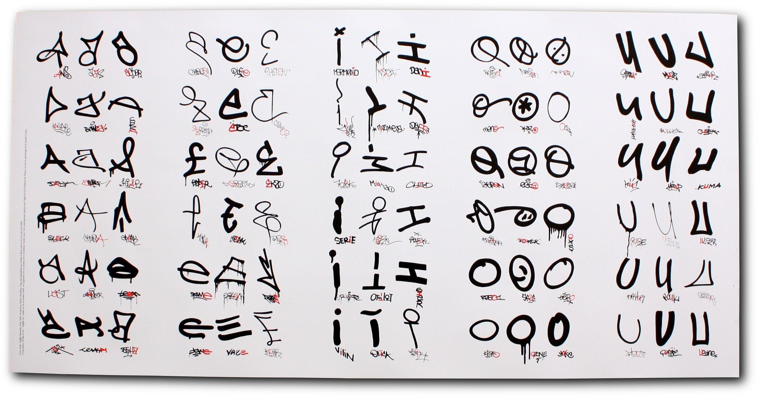 Graffiti Tag Letters | DiyMid.com | Graffiti Tags ...