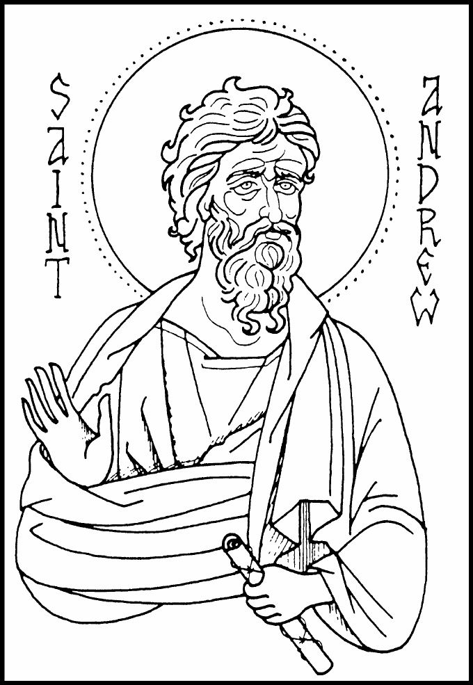 Orthodox Icon Coloring Pages