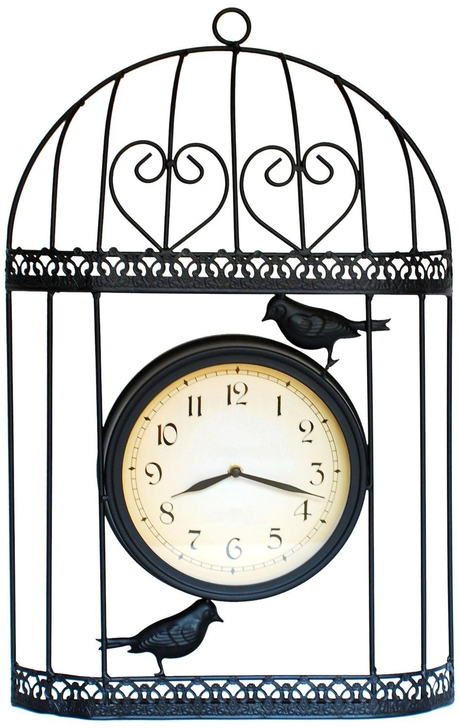Bird cage clock by ashton sutton on sale for the home pinterest