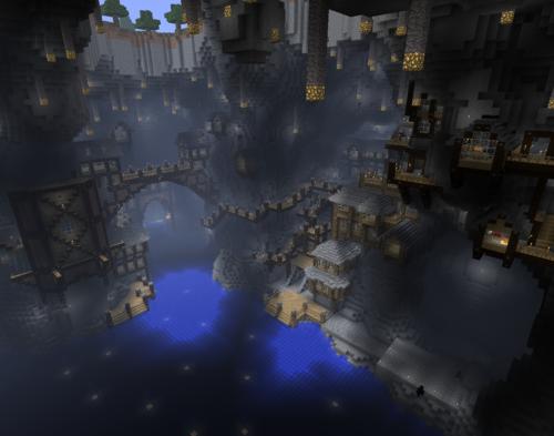 Underground village | MINECRAFT | Pinterest | Pirates ...