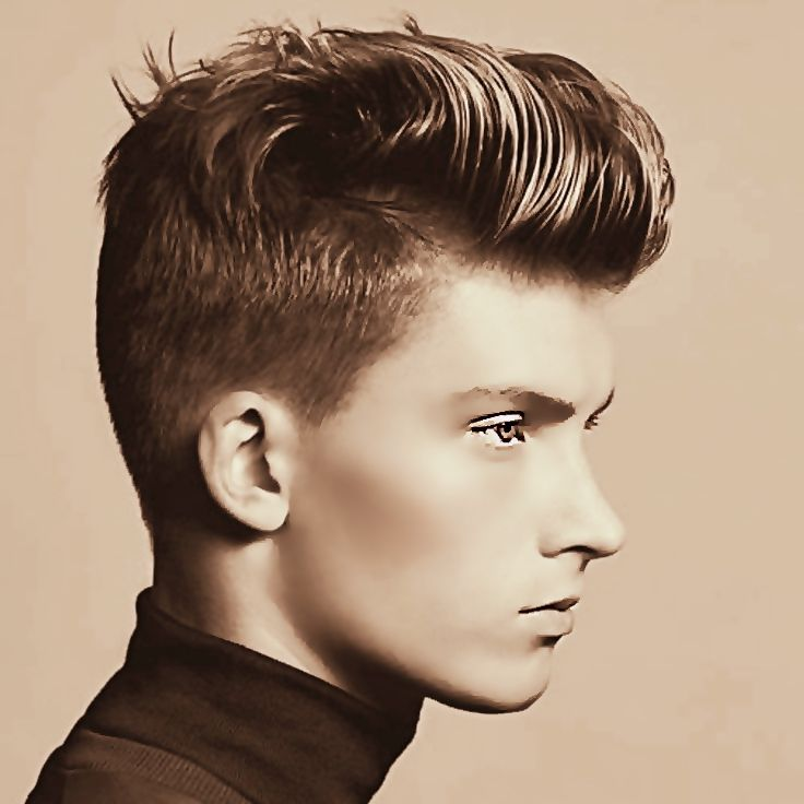 The 25 Best Pompadour Ideas On Pinterest Mens