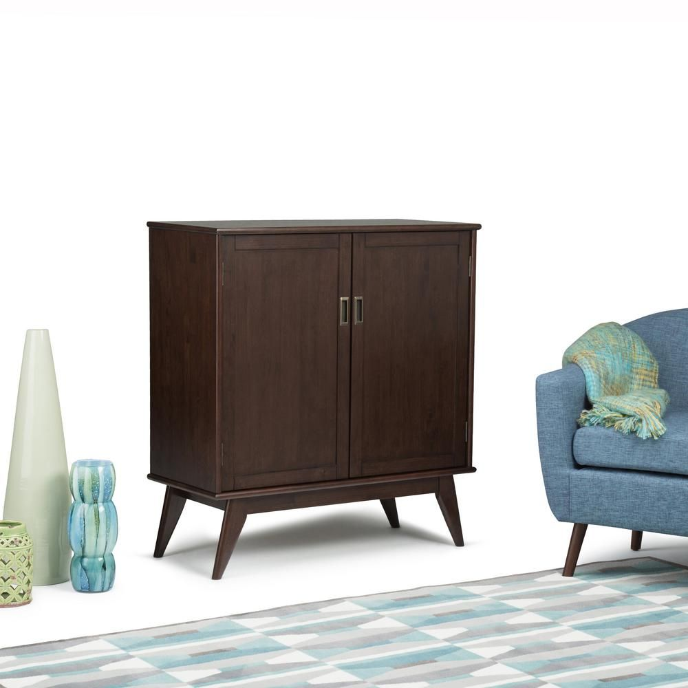 Draper medium auburn brown storage cabinet auburn brown and products