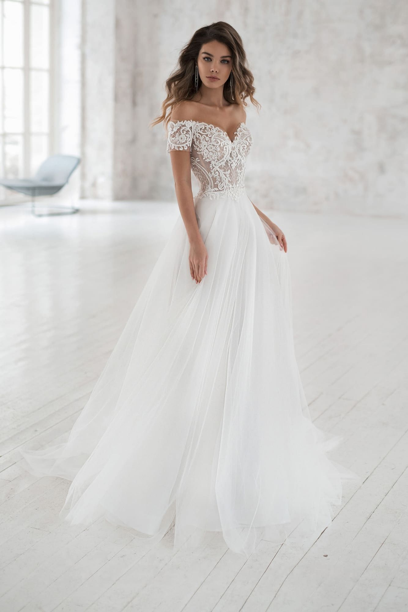 Natalia Romanova Aylin Simple Elegant Wedding Dress Off Shoulder Wedding Dress Elegant Wedding Dress