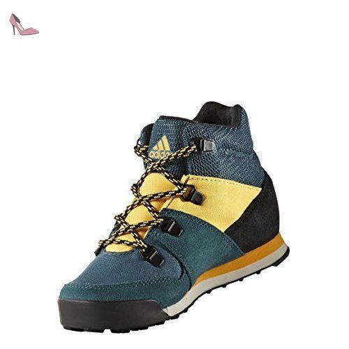 new product 53a7d 0202f adidas Snowpitch CW - Chaussures Enfant - jaune Bleu pétrole Modèle 35 2016  - Chaussures adidas ( Partner-Link)
