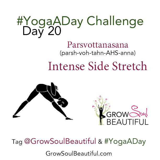 Yoga Instagram Challenge Day 20