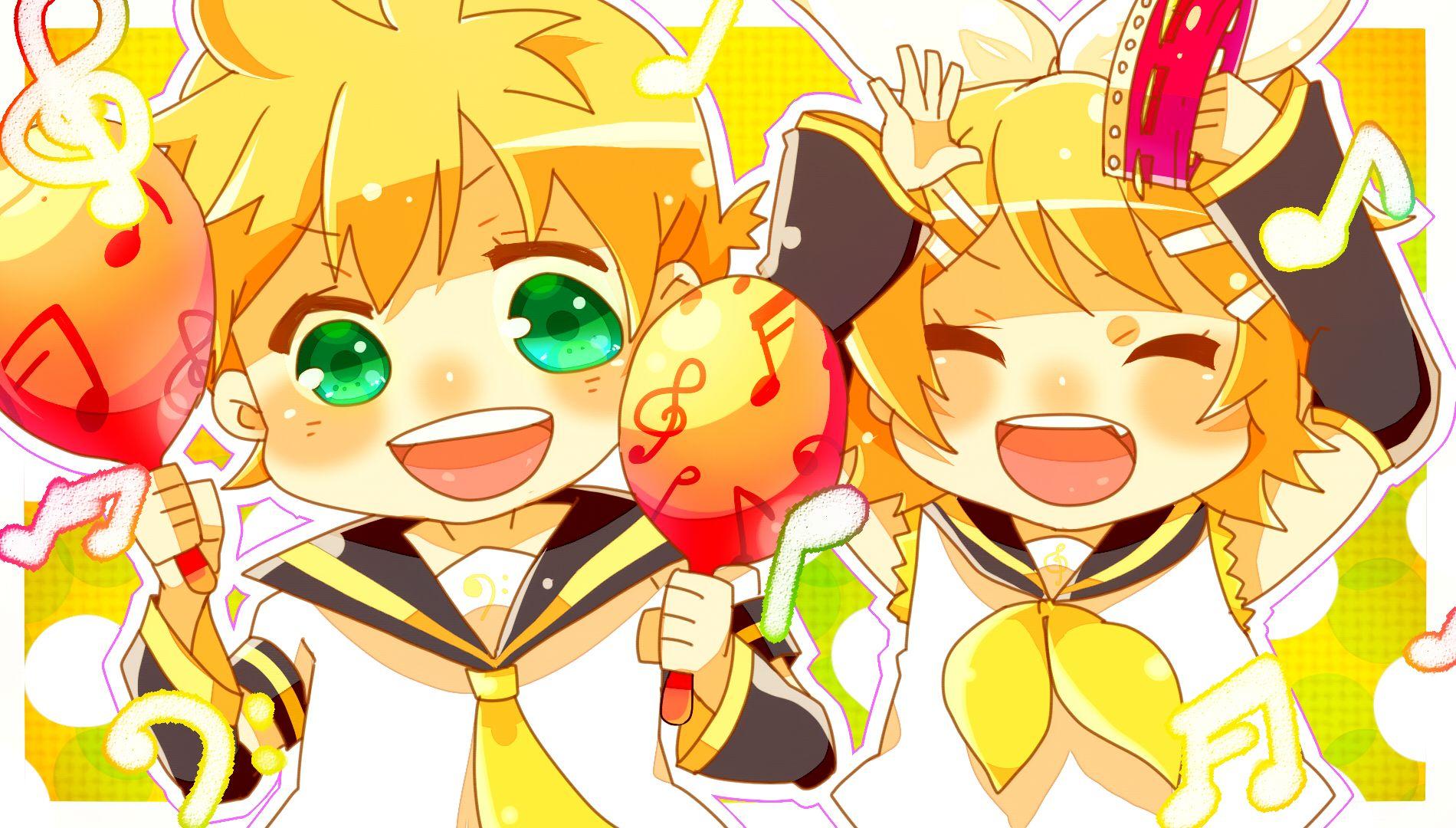 /Kagamine Twins/1535261 Zerochan Rin and Len Kagamine