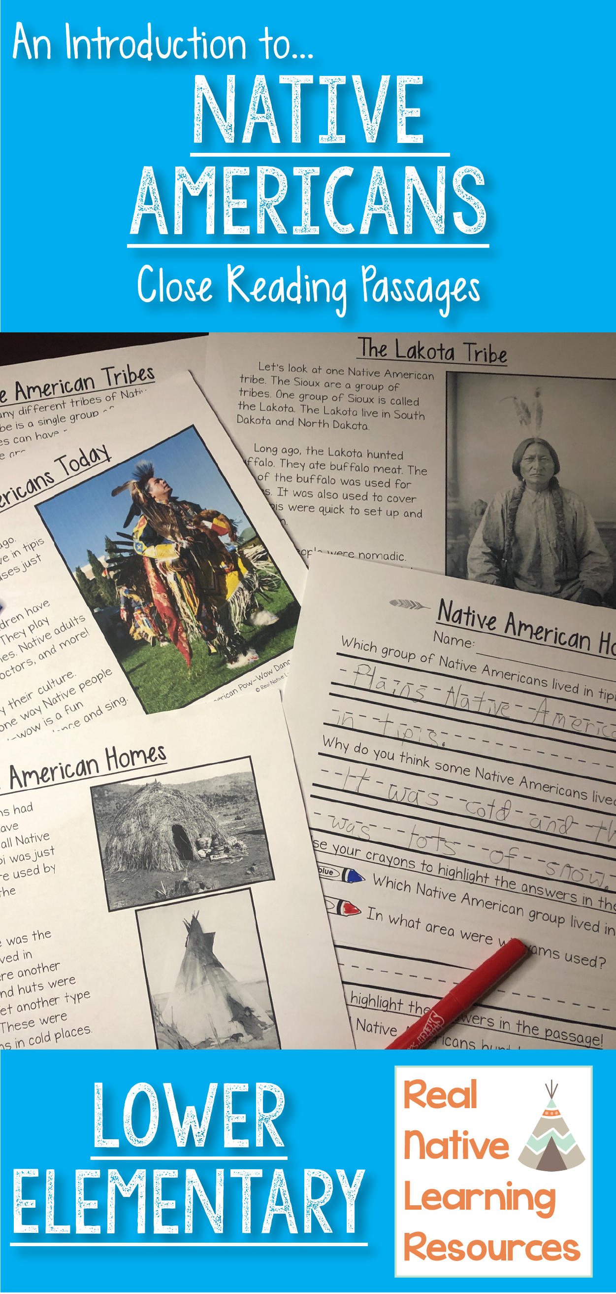 Close Reading Unit An Intro To Native Americans