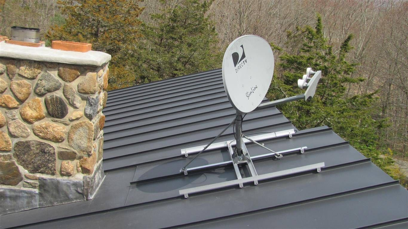 How To Mount A Satellite Dish Or Anything For That Matter
