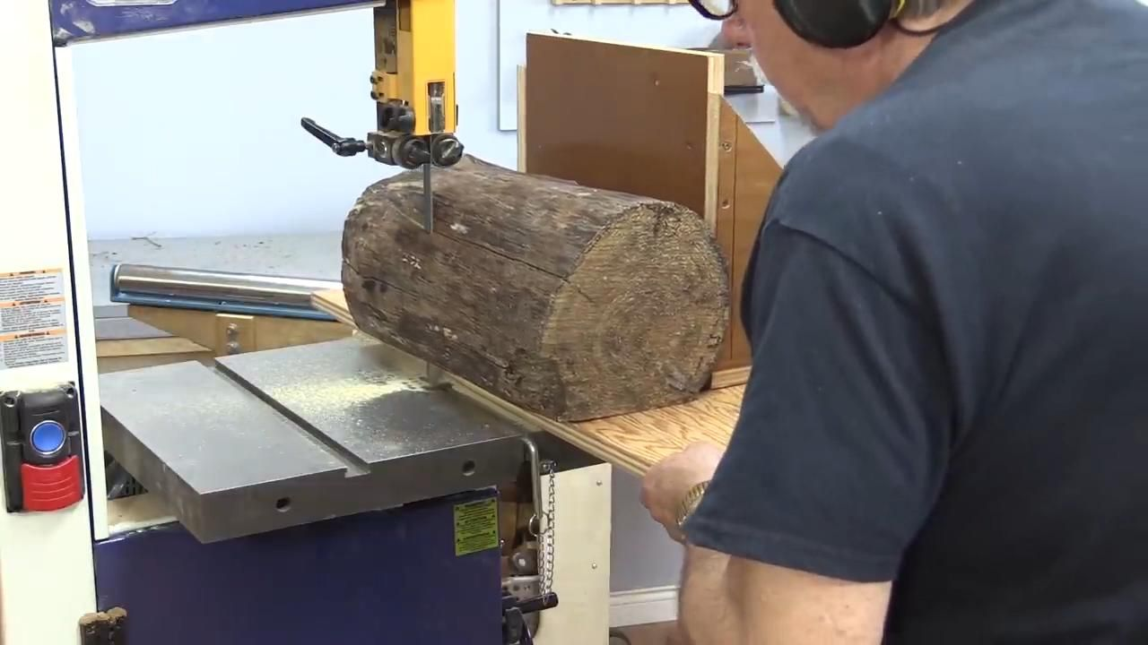 Milling Spalted Logs
