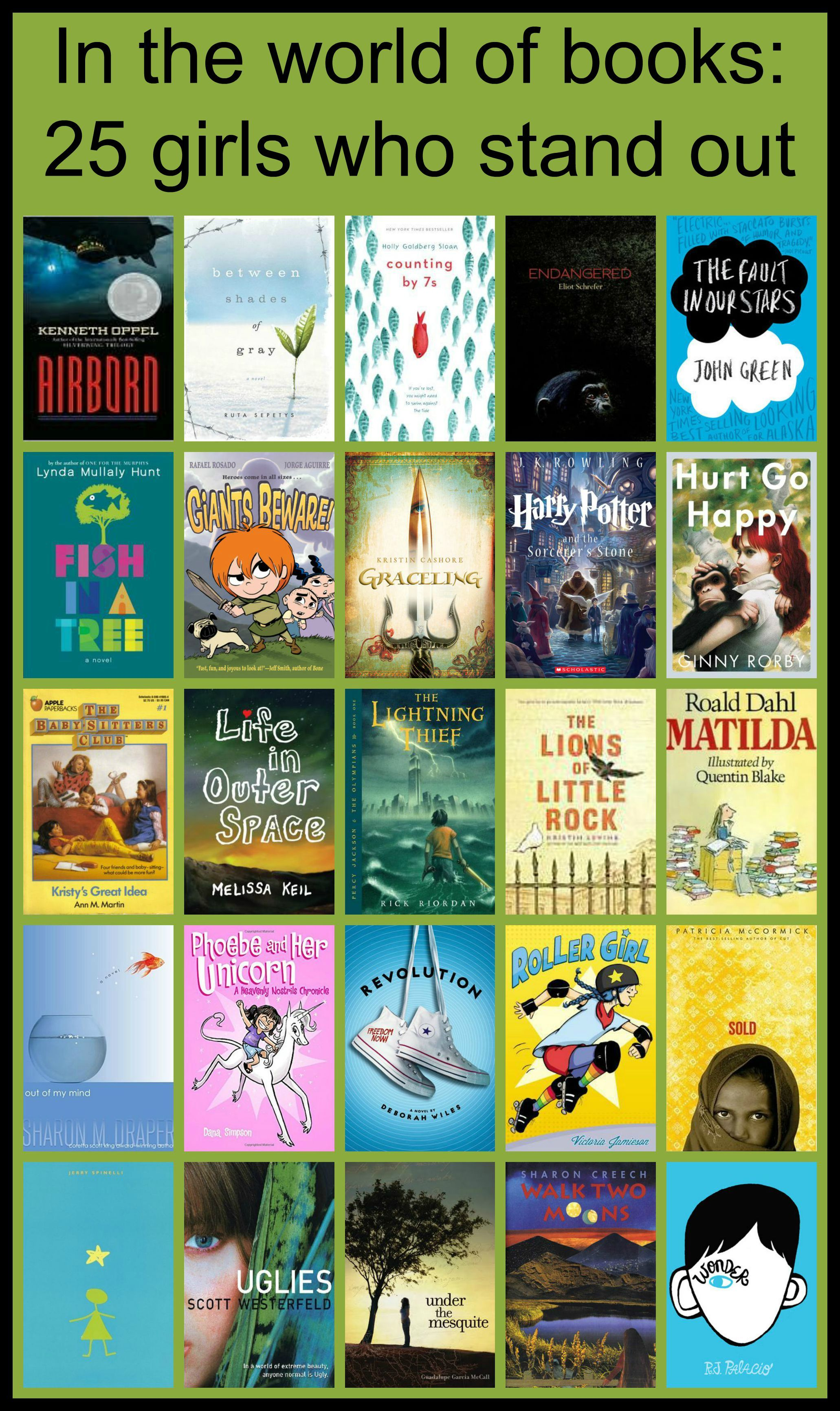 In the World of Books: 25 Girls Who Stand Out For Kellee