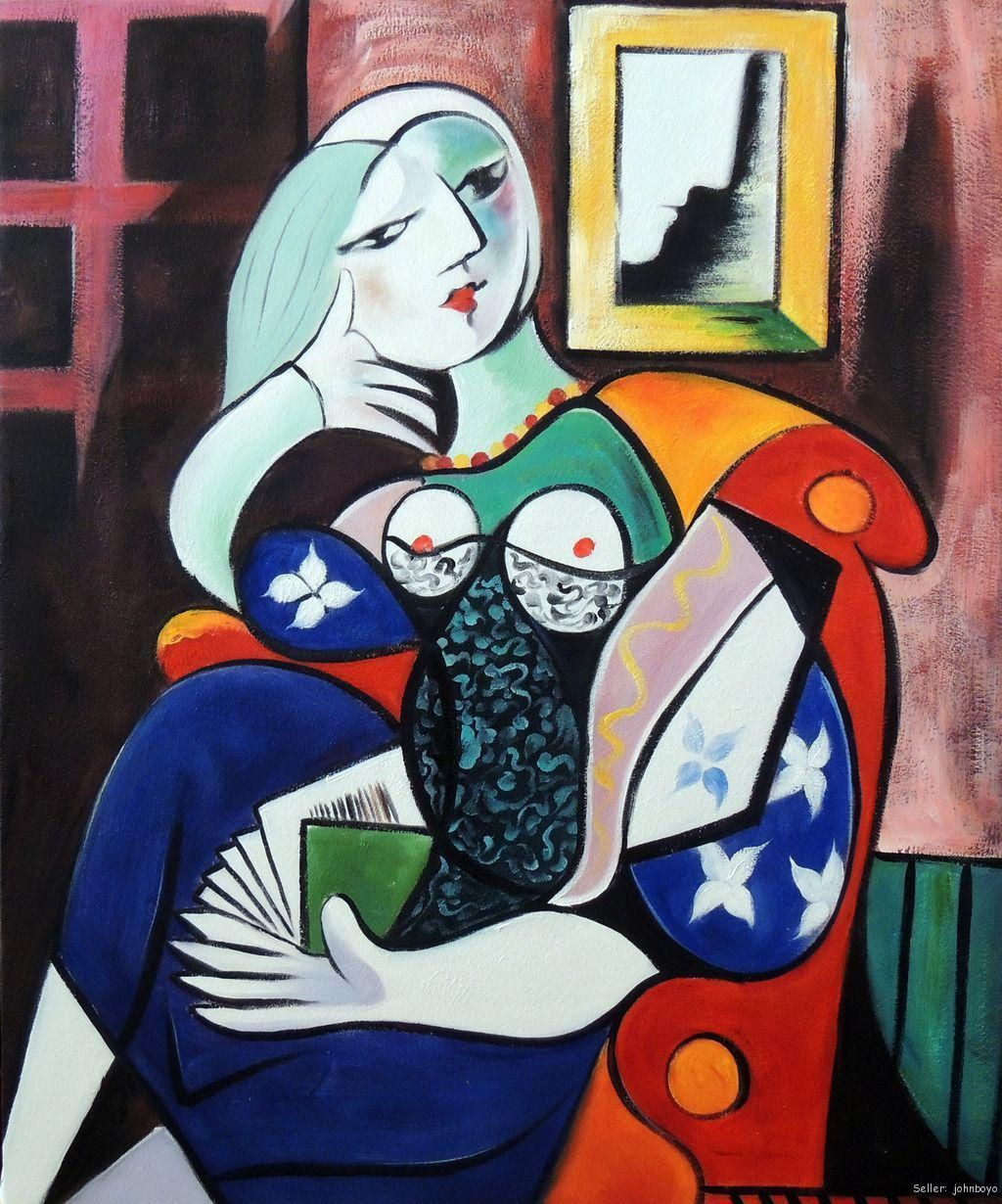 Painting Picasso Repinned by http://elleryadamsmysteries.com