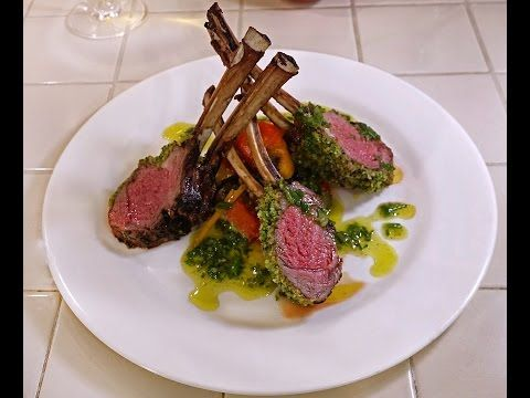 How To Cook Herb Crusted Rack Of Lamb Gordon Ramsay