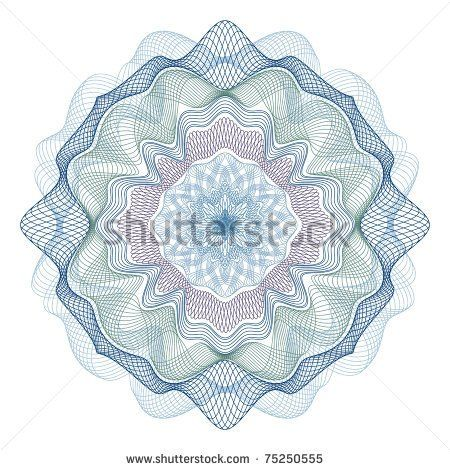Certificate background pattern photoshop free vector