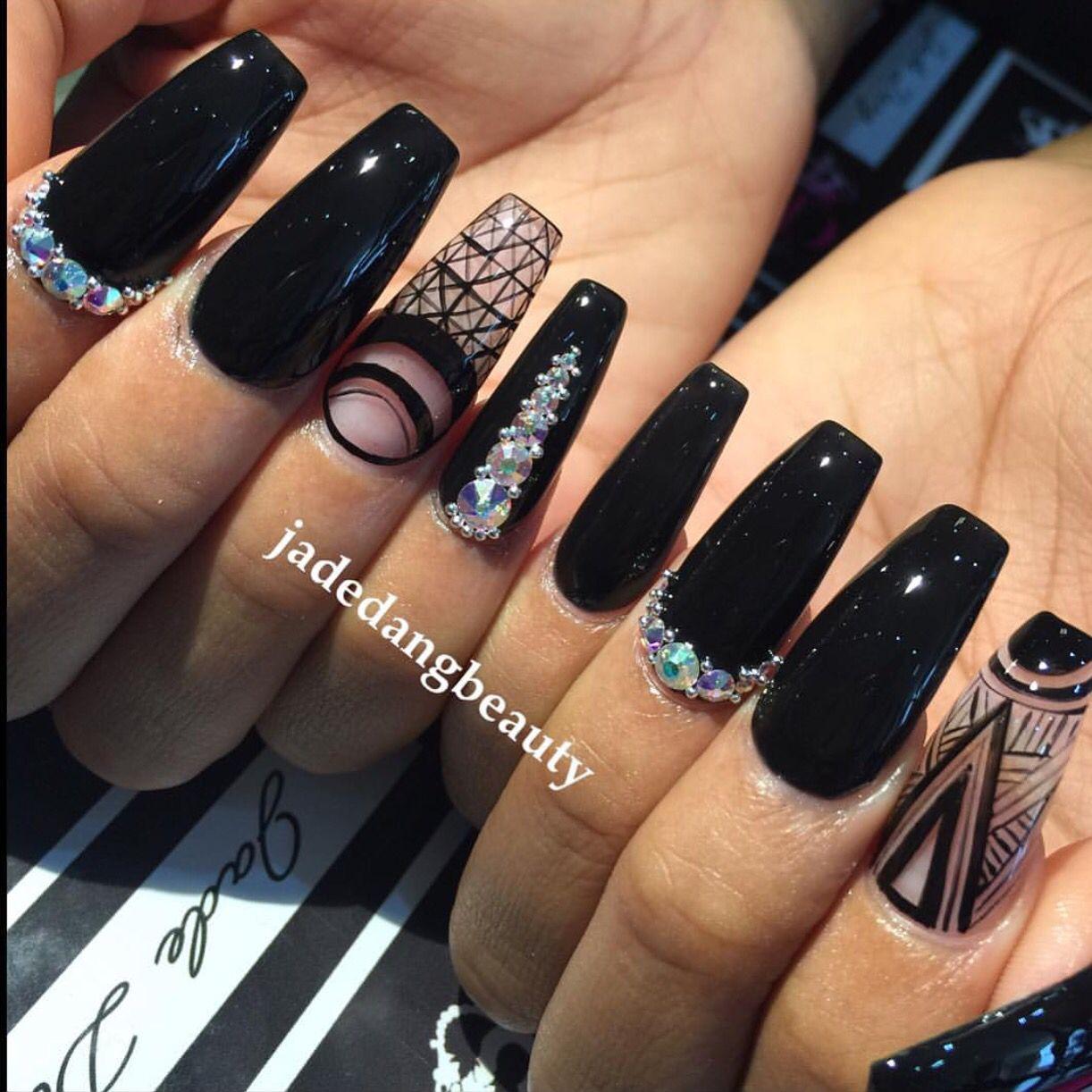 Jadedangbeauty Houstontx Nails Pinterest Houston Tx Nail