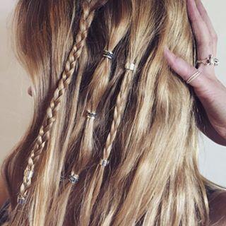 Haarperlen //Hair Ring Hair Access